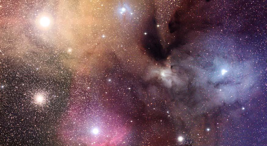 Las Nubes Coloridas de Rho Ophiuchi