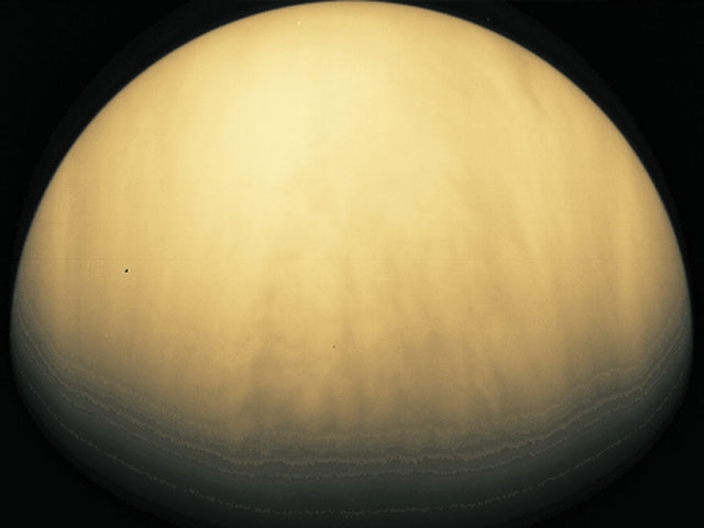 Venus Earth's nublado Twin