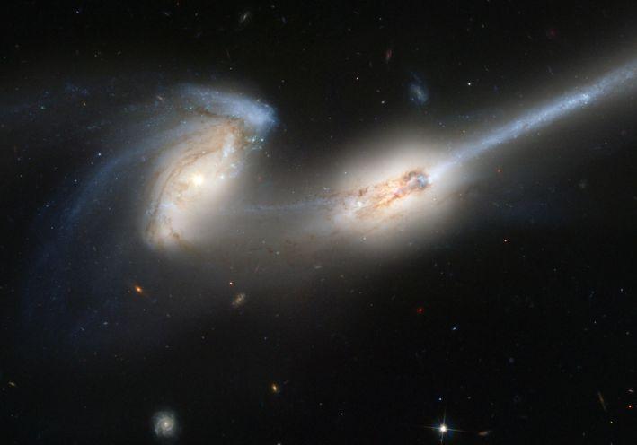 NGC 4676 Ratones Cuando chocan