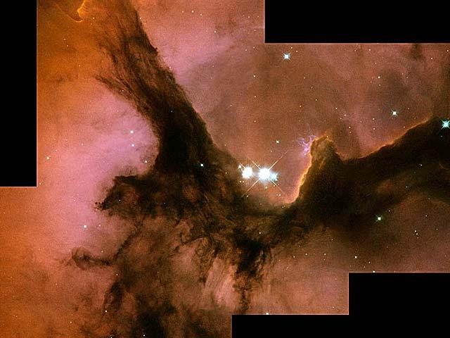 La Nebulosa Trífida de Hubble