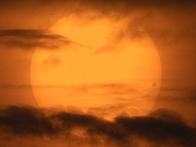 Un pintoresco Venus Transit