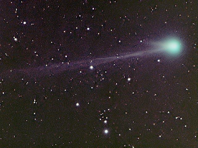 Anunciando el cometa C/2003 K4 (LINEAR)