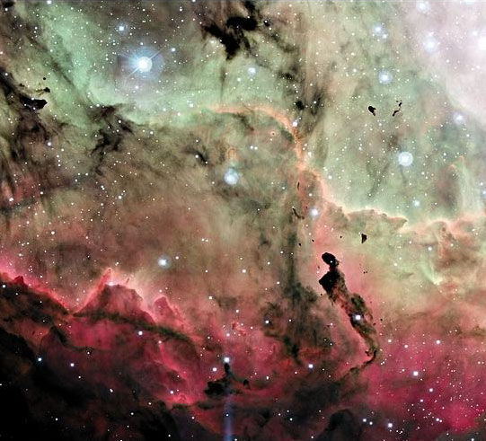 Cerca de la Nebulosa de la Laguna