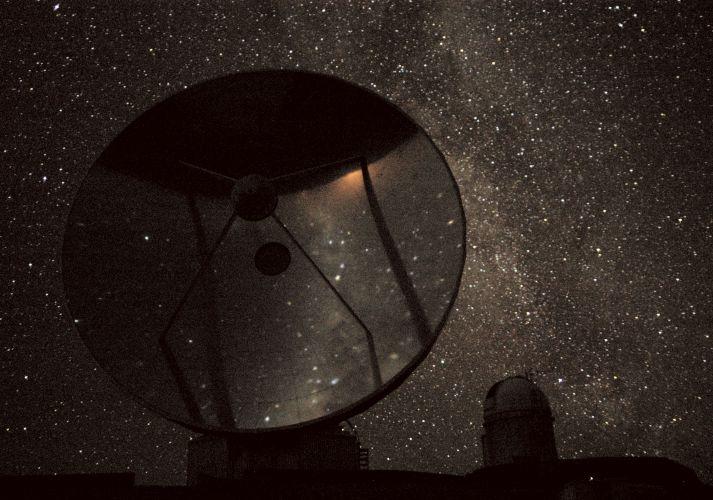 La estrellada noche de la Silla
