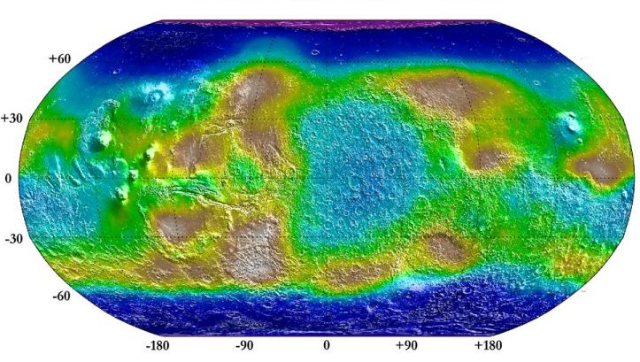 De neutrones de Marte