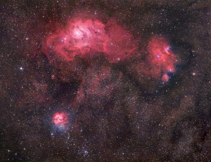 El triplete de Sagitario