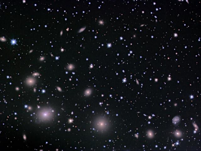 El cúmulo galáctico de Perseo