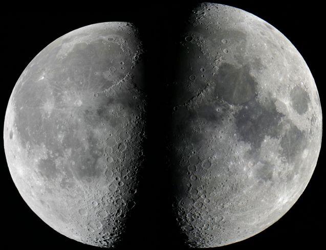 Luna en apogeo, Luna en perigeo