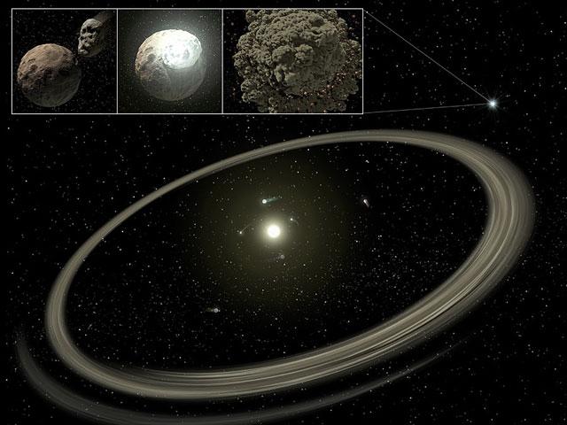 Old Planetaria han encontrado discos de polvo de TSM