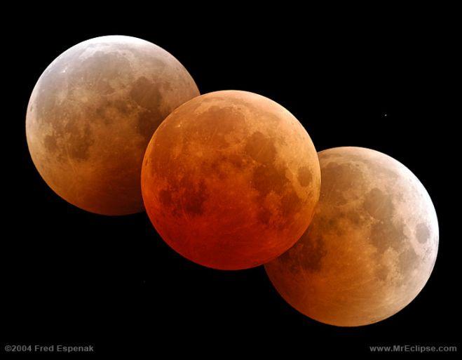 Triple Luna roja