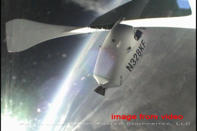 SpaceShipOne gana el X Premio