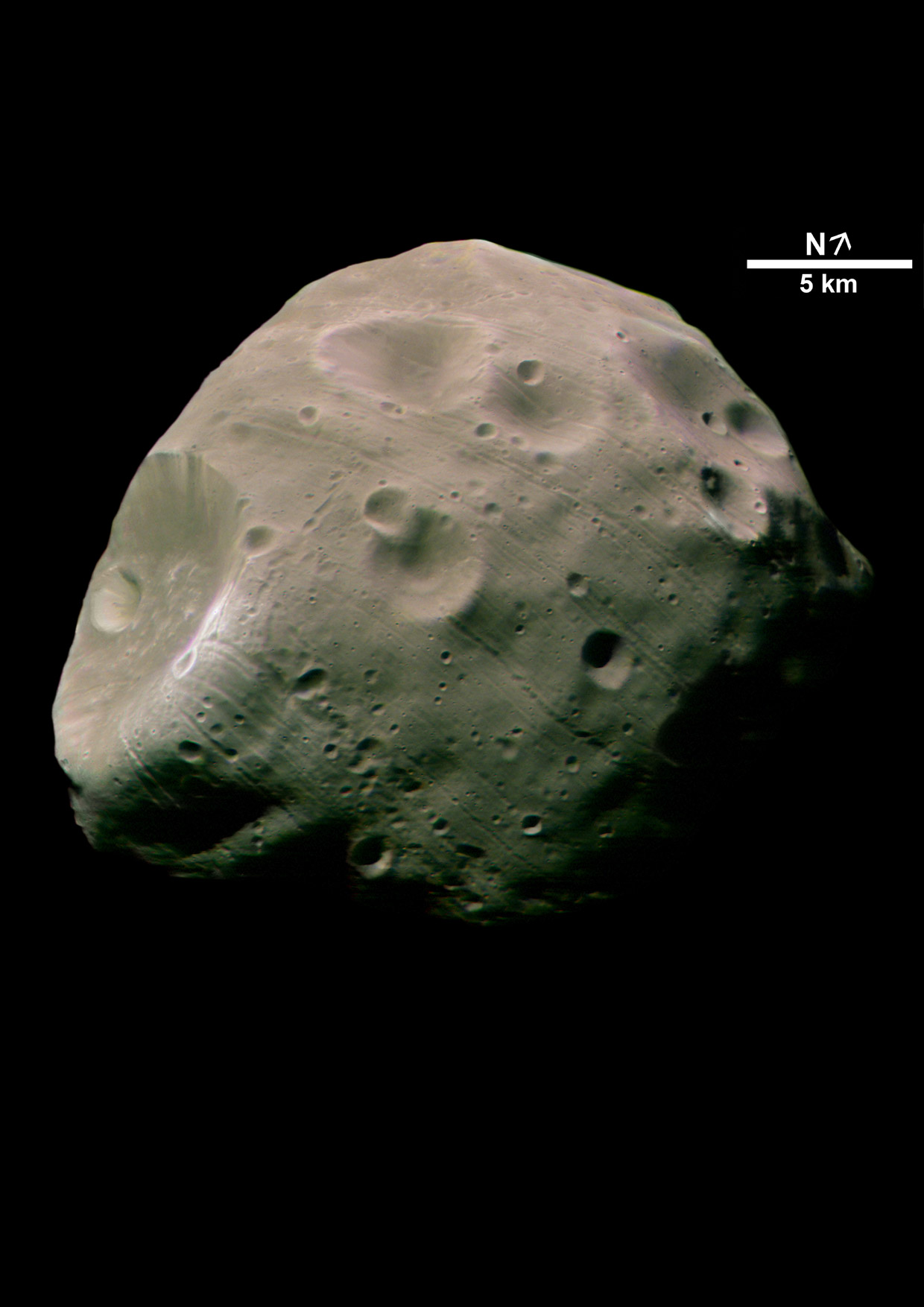 ASTROLAB.ru - Фото космоса - Астероиды - Фобос.