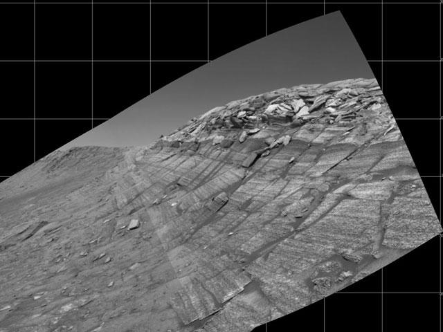 El desfiladero Burns en Marte