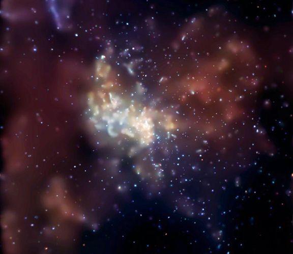 Rayos X desde el corazón de la galaxia