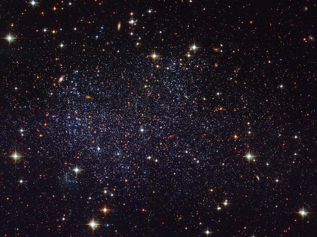 La galaxia irregular enana de Sagitario