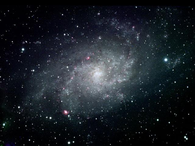La espiral cercana M33