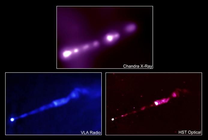 El chorro energético de M87