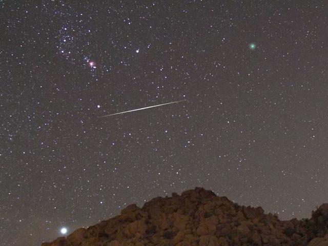 Cometa, meteoro, nebulosa, estrella