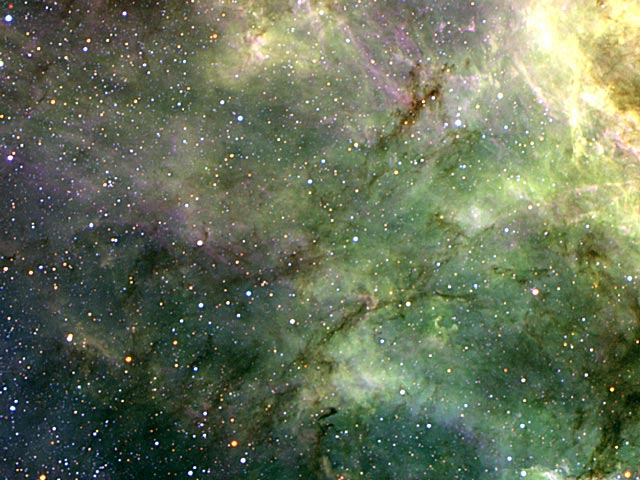 Los tentáculos de la Nebulosa Tarántula