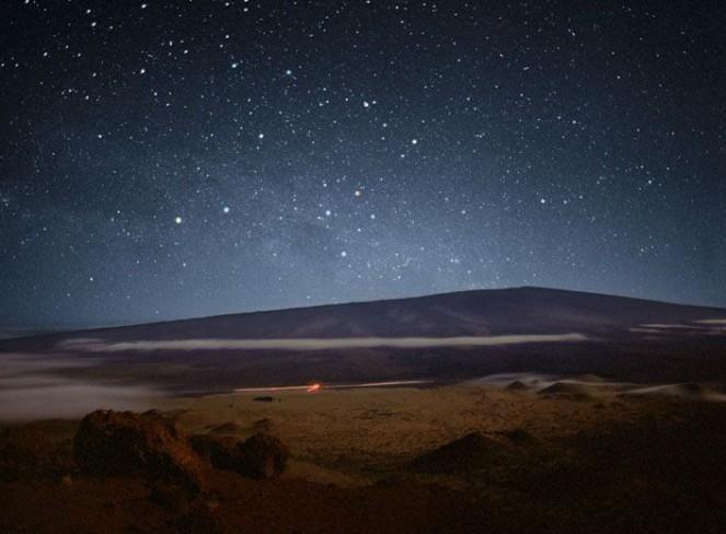 La Cruz del Sur en los cielos de Mauna Loa