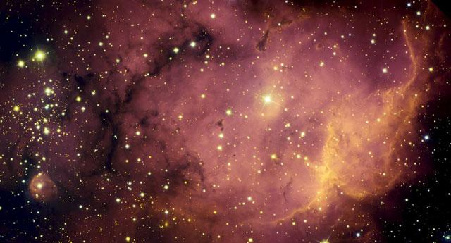 NGC 2467: del gas a las estrellas