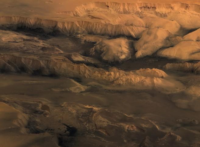 Melas, Candor y Ophir: Valles del Marinero