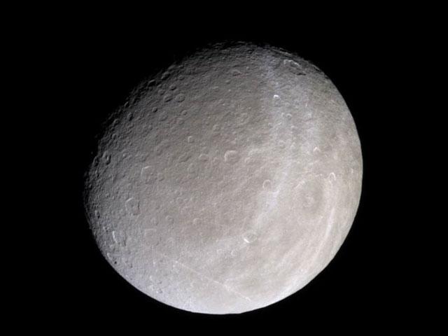 Saturns luna Rhea de Cassini