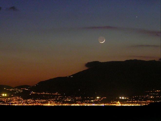 Luna, Mercurio, Mónaco