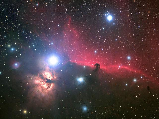 Orion's Nebulosa Cabeça do Cavalo