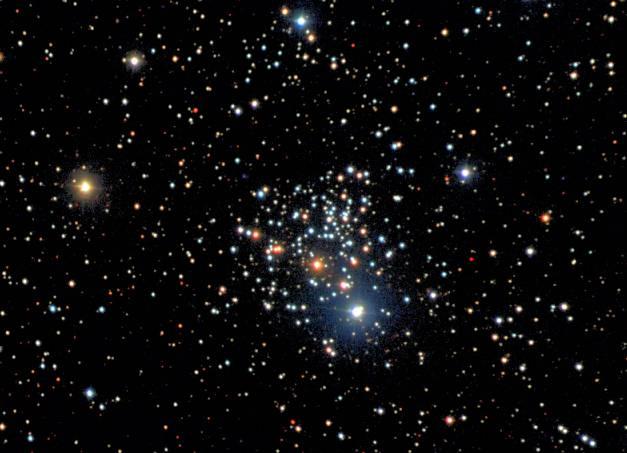 NGC 2266: Un viejo cúmulo en el Nuevo Catálogo General