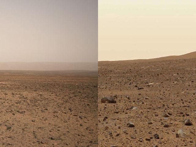 ¿La Tierra o Marte?