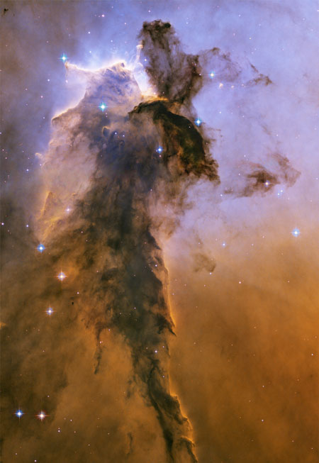 El hada de nebulosa del Águila