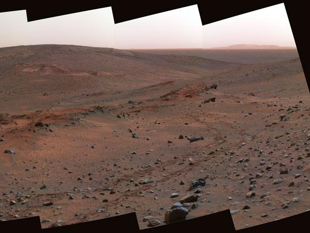 Afloramiento Matusalén en Marte