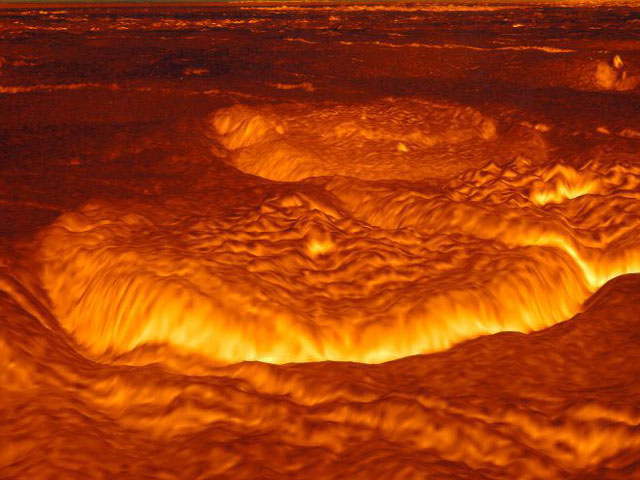 images of venus surface