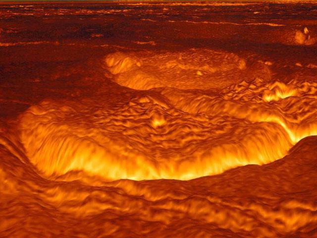 Venus' Una vez Molten Superficie