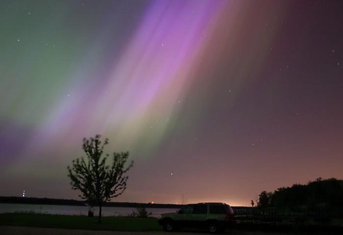 Aurora en Iowa