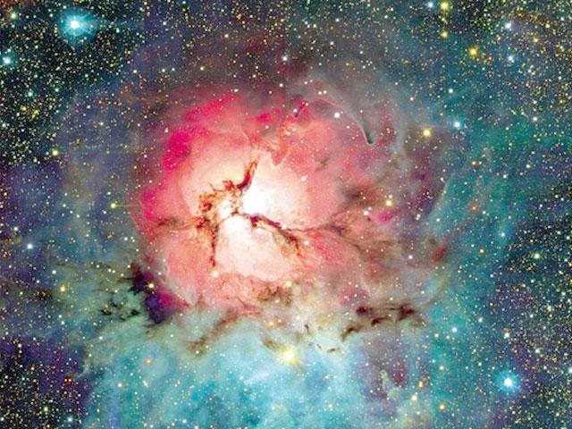 La Nebulosa Trífida vista por el CFHT