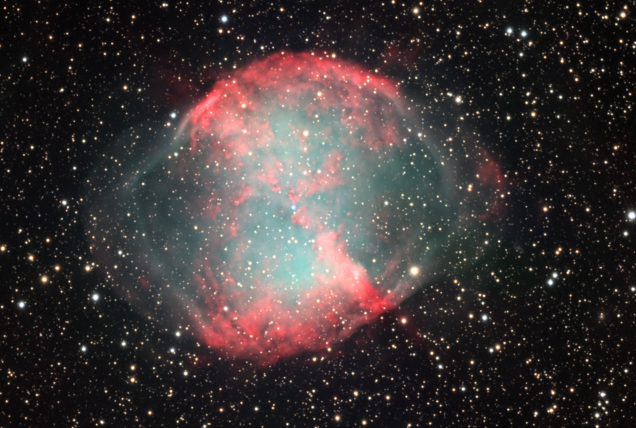 APOD: 2005 June 3 - M27: The Dumbbell Nebula