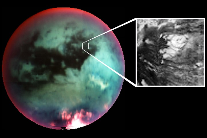El criovolcán de Titán