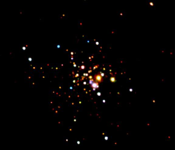 X-Ray Estrellas de 47 Tuc