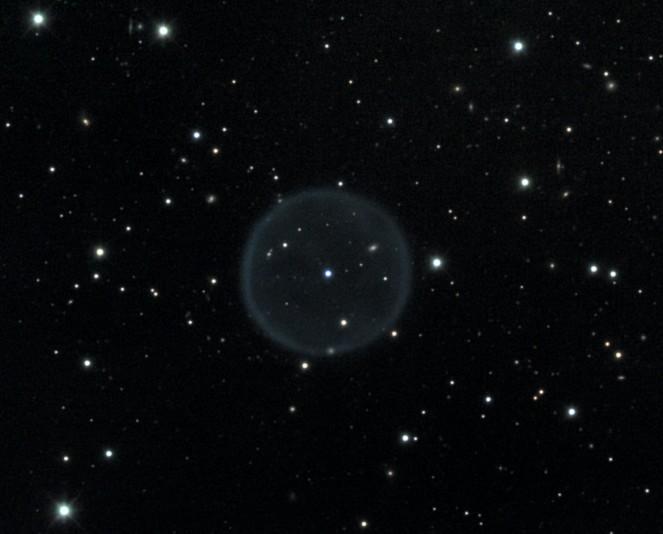 Nebulosa planetaria esférica Abell 39