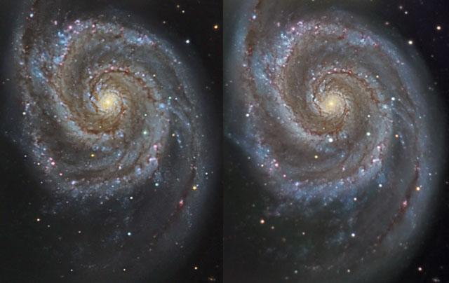 cercanos Supernova en M51