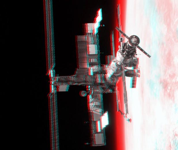 3D Estación Espacial Internacional