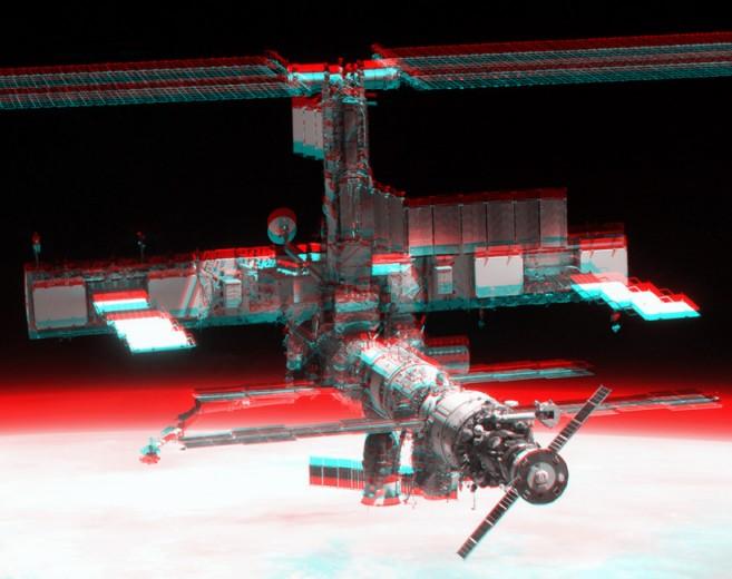 La Estación Espacial Internacional en 3D