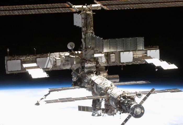 La Estación Espacial Internacional desde la órbita