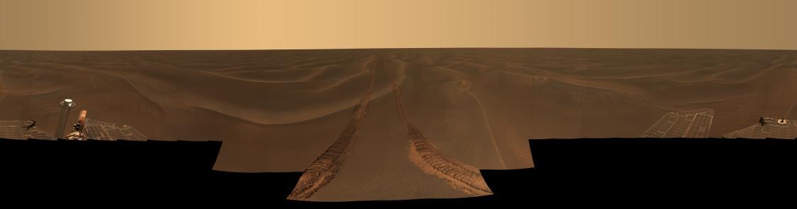 El Marte desierto: Rub al Khali