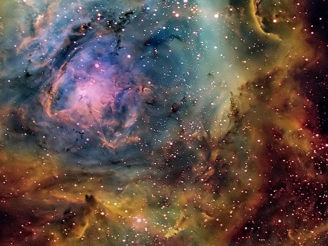 El ajetreado centro de la Nebulosa de la Laguna