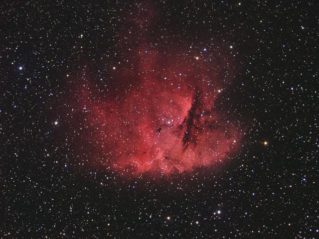 NGC 281: la nebulosa comecocos