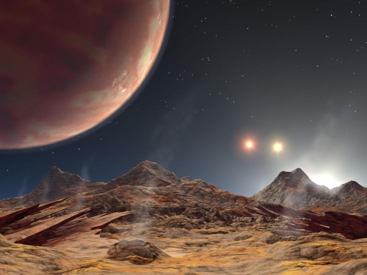HD 188753: triple puesta de sol