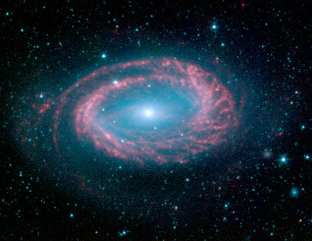 Galaxia espiral de un solo brazo NGC 4725